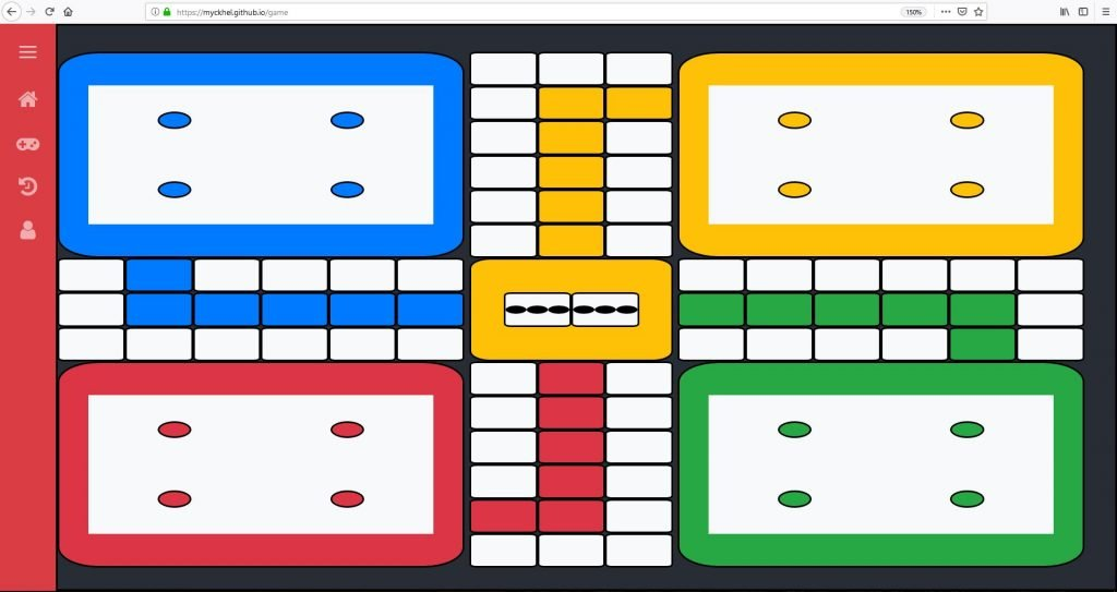 Online ludo game